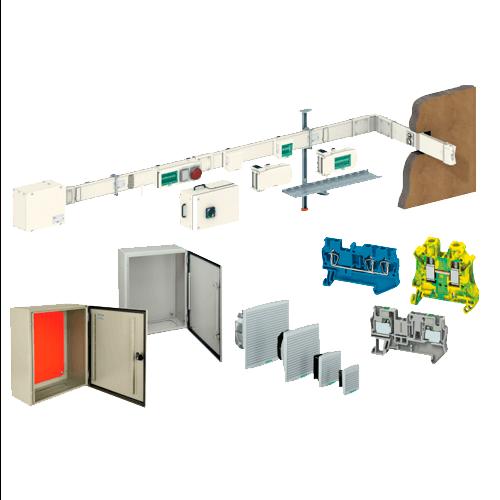 armários e caixas metálicas